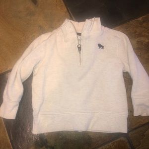 18-24m half zip sweater